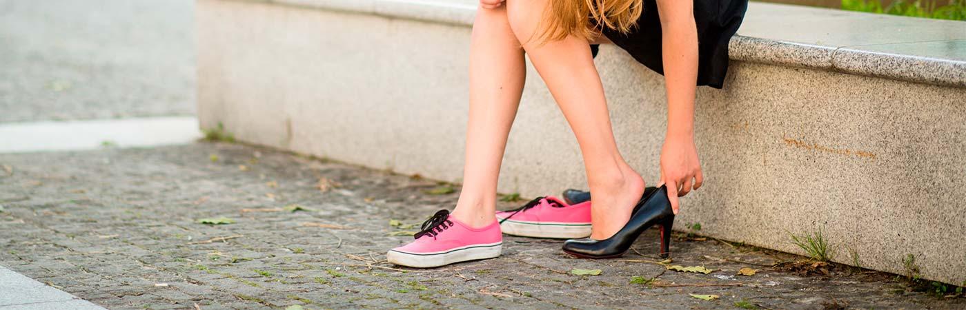 undgå vabler i nye sko
